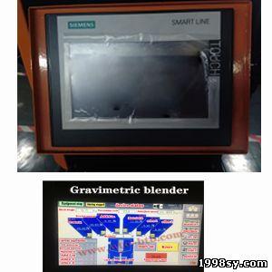 gravimetric blender PLC control panel,Gravimetric blender